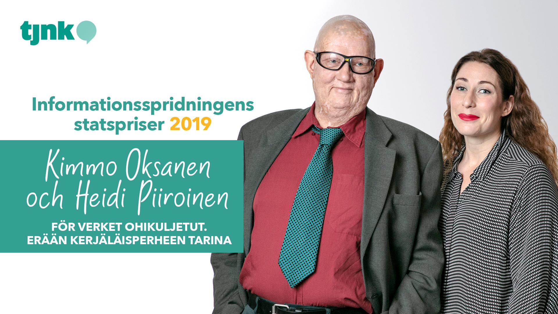 Kimmo Oksanen och Heidi Piiroinen